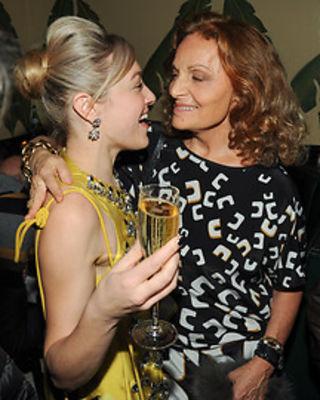 Mia Moretti, Diane von Furstenberg