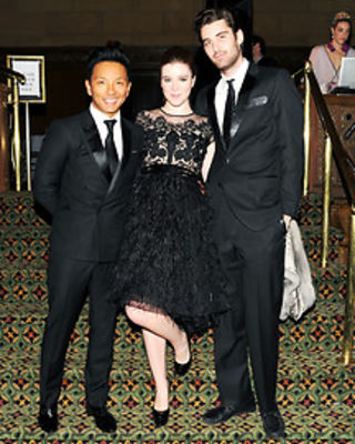 Prabal Gurung, Nell Diamond, Kyle Hotchkiss Carone