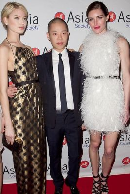 Martha Hunt, Jason Wu, Hilary Rhoda