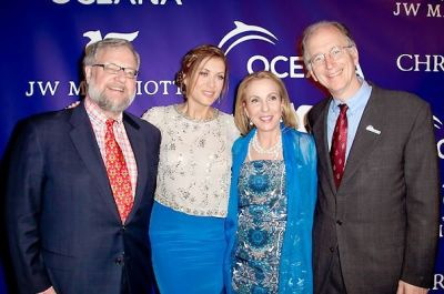 David Rockefeller, Kate Walsh, Susan Rockefeller, Andy Sharpless