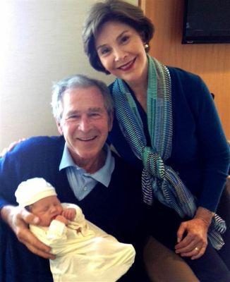 Jenna Hager Bush Baby Photo