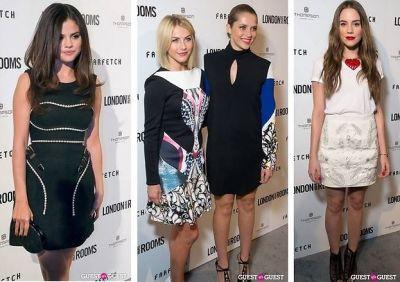 Selena Gomez, Julianne Hough, Teresa Palmer, Christa B. Allen