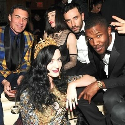 Andre Balazs, Katy Perry, Madonna, Riccardo Tisci, Frank Ocean