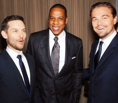 Tobey Maguire, Jay-Z, Leonard DiCaprio