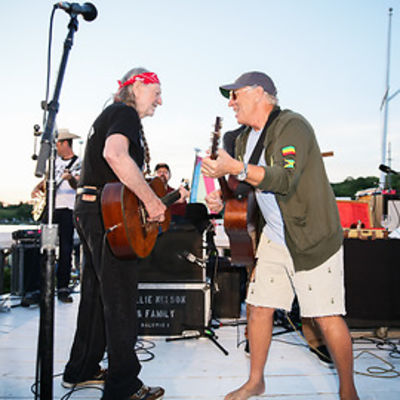 Willie Nelson, Jimmy Buffett