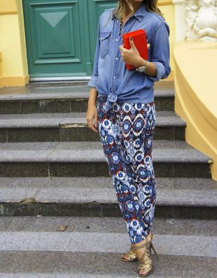 Patterned Pants Trend