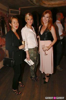 Esther Kim, Caroline Evans, Allison Beale