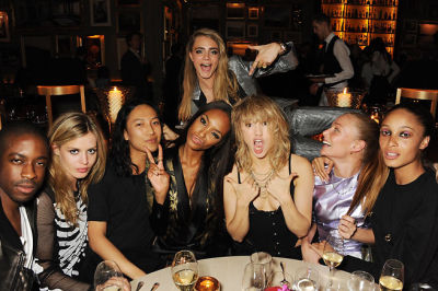 Georgia May Jagger, Alex Wang, Jourdan Dunn, Suki Waterhouse, Cara Delevingne