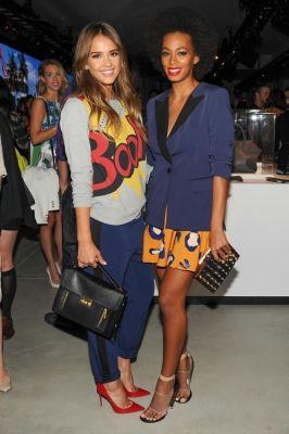 Jessica Alba, Solange Knowles