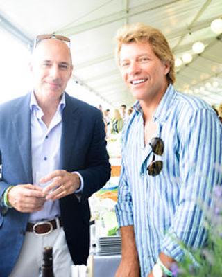 Matt Lauer, Jon Bon Jovi