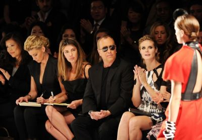 Faith Hill, Nina Garcia, Michael Kors, Heidi Klum