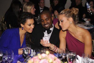 Kim Kardashian, Kanye West, Bar Refaeli