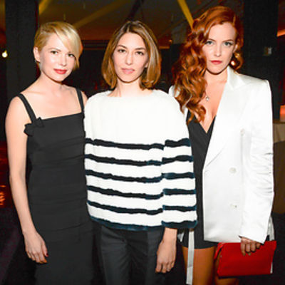 Michelle Williams, Sofia Coppola, Riley Keough