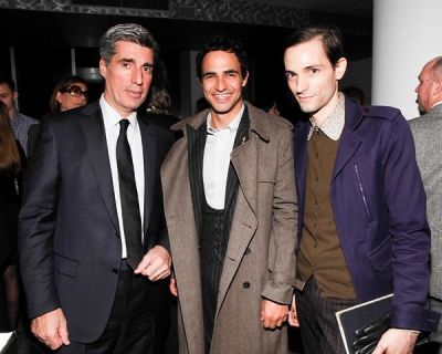 Stephen Alden, Zac Posen, Christopher Niquet