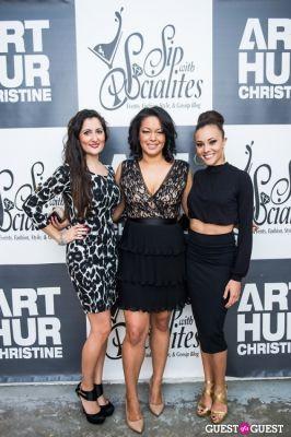 Tahera Zamanzada, Eve Monica and Ashley Boalch