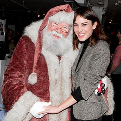 Santa, Alexa Chung
