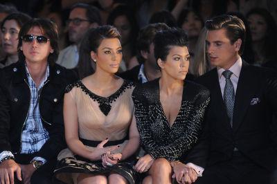 Jonathan Cheban, Kim Kardashian, Kourtney Kardashian, Scott Disick