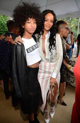 Willow Smith, Rihanna