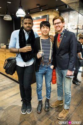 Best Dressed Guests: The Frye Pop Up Gallery's Fashionable Gents