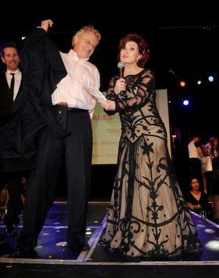 Jerry Springer, Sharon Osbourne