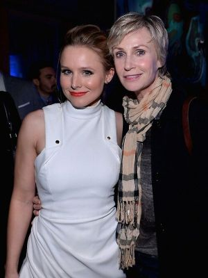 Kristen Bell, Jane Lynch
