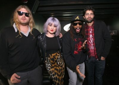 Luke Trembath, Kelly Osbourne, Lil Jon, Adrian Grenier