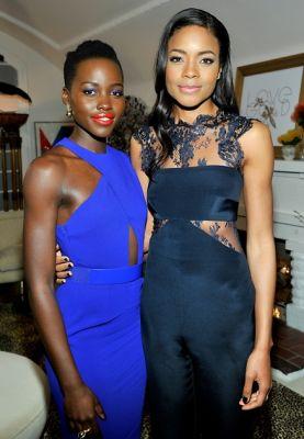 Lupita Nyong'o, Naomie Harris