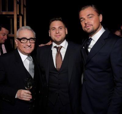 Martin Scorsese, Jonah Hill, Leonardo DiCaprio