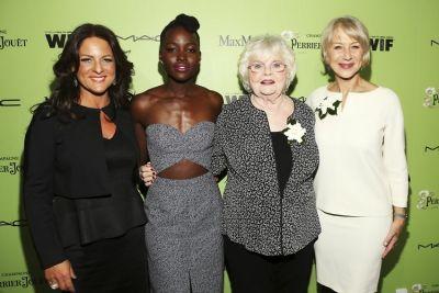 Cathy Schulman, Lupita Nyong'o, June Squibb, Helen Mirren