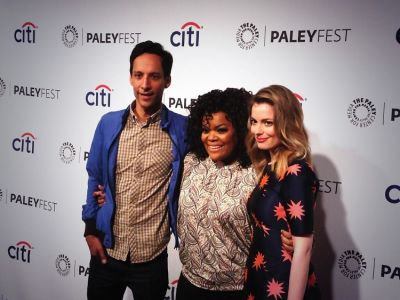 Danny Pudi, Yvetter Nicole Brown, Gillian Jacobs