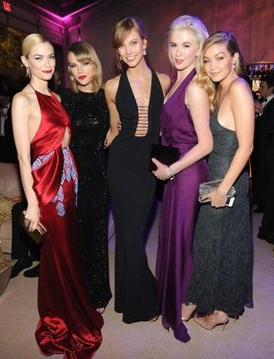 Jaime King, Taylor Swift, Karlie Kloss, Ireland Baldwin, Gigi Hadid