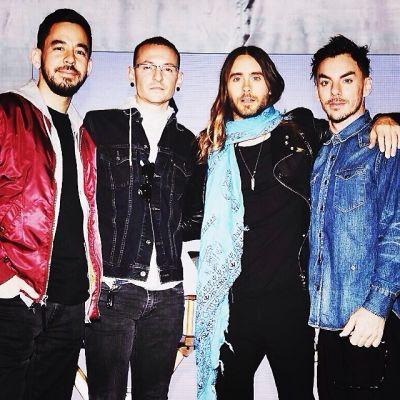 Mike Shinoda, Chester Bennington, Jared Leto, Shannon Leto