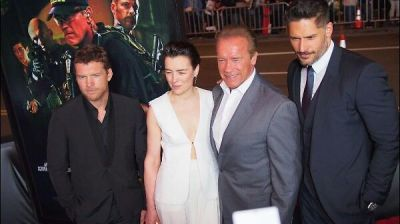 Sam Worthington, Olivia Williams, Arnold Schwarzenegger,  Joe Manganiello