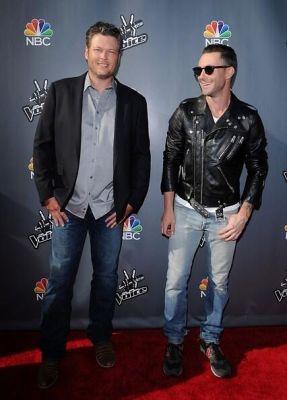 Blake Shelton, Adam Levine