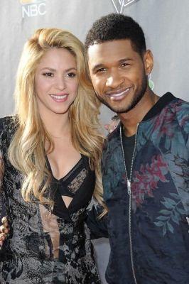 Shakira, Usher