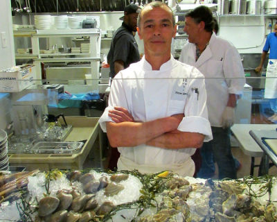Chef Pierre Rougey