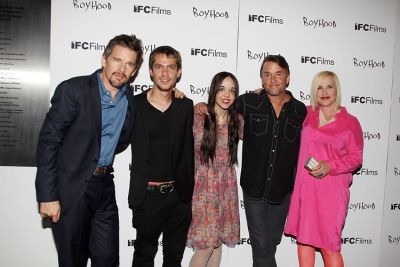 Ethan Hawke, Ellar Coltrane, Lorelei Linklater, Richard Linklater, Patricia Arquette