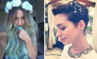 Celeb-Inspired Ways To Wear Flowers In Your Hair