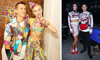 Jeremy Scott, Miley Cyrus, Leigh Lezark, Gordon Nichol
