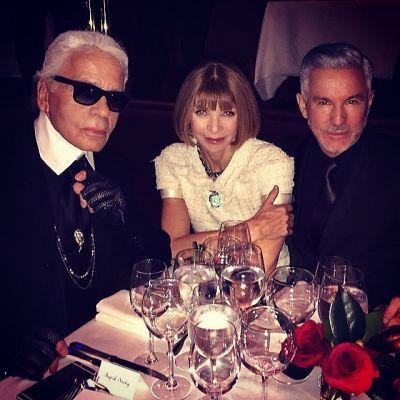 Karl Lagerfeld, Anna Wintour, Baz Luhrmann