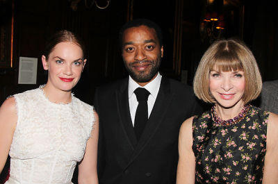 Ruth Wilson, Chiwetel Ejiofor, Anna Wintour