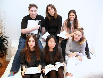 Hunter Abrams, Fie Tiedt, Sabrina Banta, Sabrina Tamar, Estee Kim, Louise Borchers