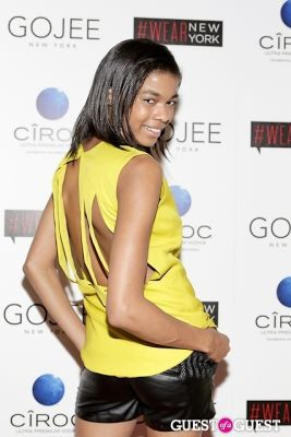 larencia in Wear New York presented by Gojee