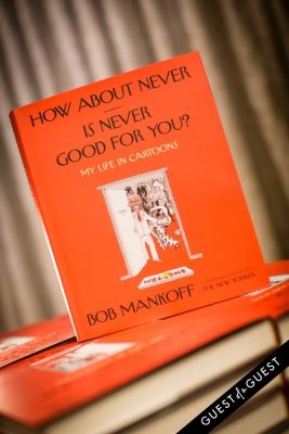 Bob Mankoff Cartoonist Book Launch