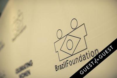Brazil Foundation XII Gala Benefit Dinner NY 2014
