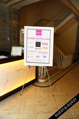 Beauty Press Presents Spotlight Day Press Event