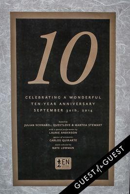 EN Japanese Brasserie 10th Anniversary Celebration