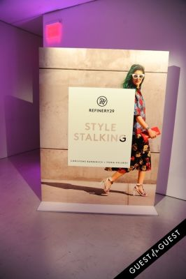 Refinery 29 Style Stalking Book Release Party