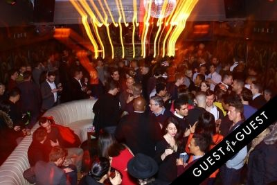love majewski in OUT Magazine NYFW Party at No.8