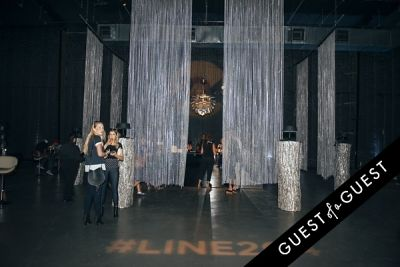 christian siriano in Line 204 Studios Re-Opening Party